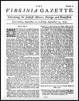 History of American newspapers