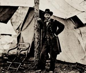 General Grant in Camp