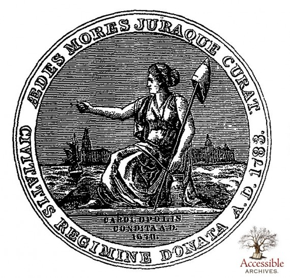 Charleston Centennial Medal (Front)