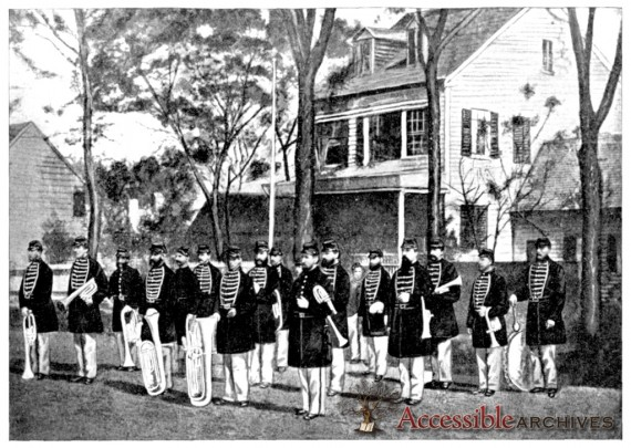 Forty Fifth Regiment Massachusetts Volunteer Militia Cadet Band