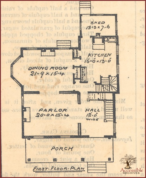 Gothic House Design First Floor Defining American Style In Ey S Lady Book