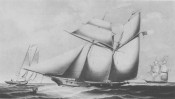 The Wanderer is the last documented ship to bring a cargo of slaves from Africa to the United States on November 28, 1858