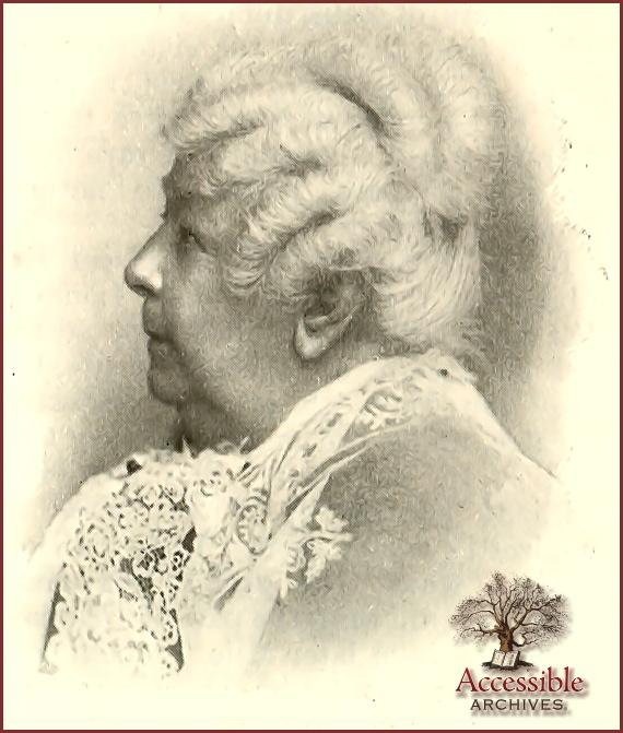 Elizabeth Cady Stanton - Latest Portrait 1895