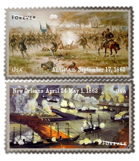 US Postal Service Forever Stamps 2012