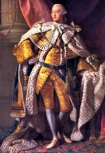 George III in Coronation Garb