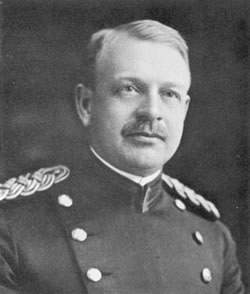 Brig. Gen. Frederick F Russell  developed a typhoid vaccine in 1909.