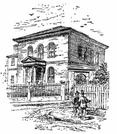 The Jewish Synagogue in Reminiscences of Newport