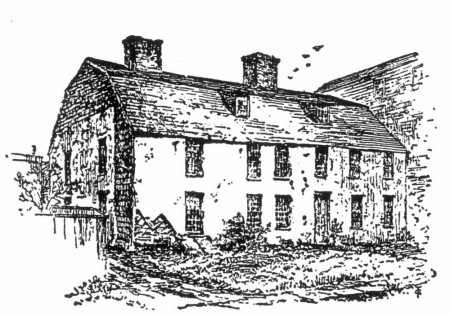 The Bull House of 1639 in Reminiscences of Newport