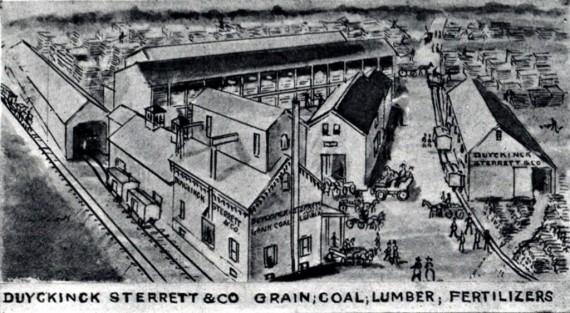 Duyckinck Sterrett & Co, Grain, Coal, Lumber, Fertilizers
