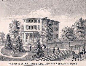 William Price, Esq. Home in Cecil County, Maryland