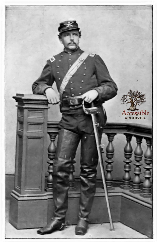 Colonel Chickering as Colonel of Cavalry