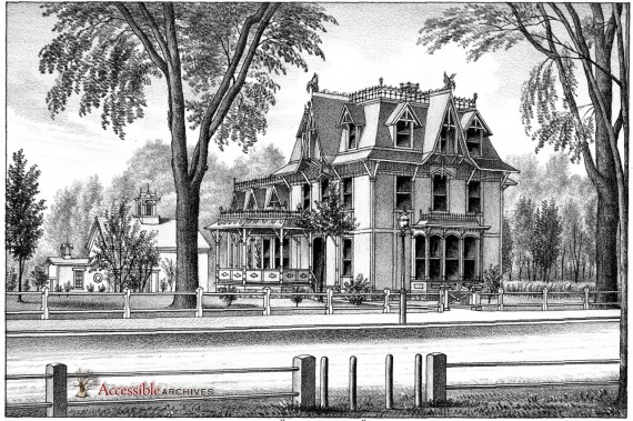 Park Cottage. Residence of George W. Phelps