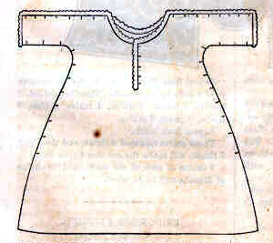 Bedgown for an Invalid in Godey's Lady's Book
