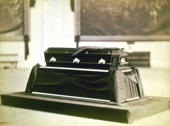 President James A. Garfield's Casket