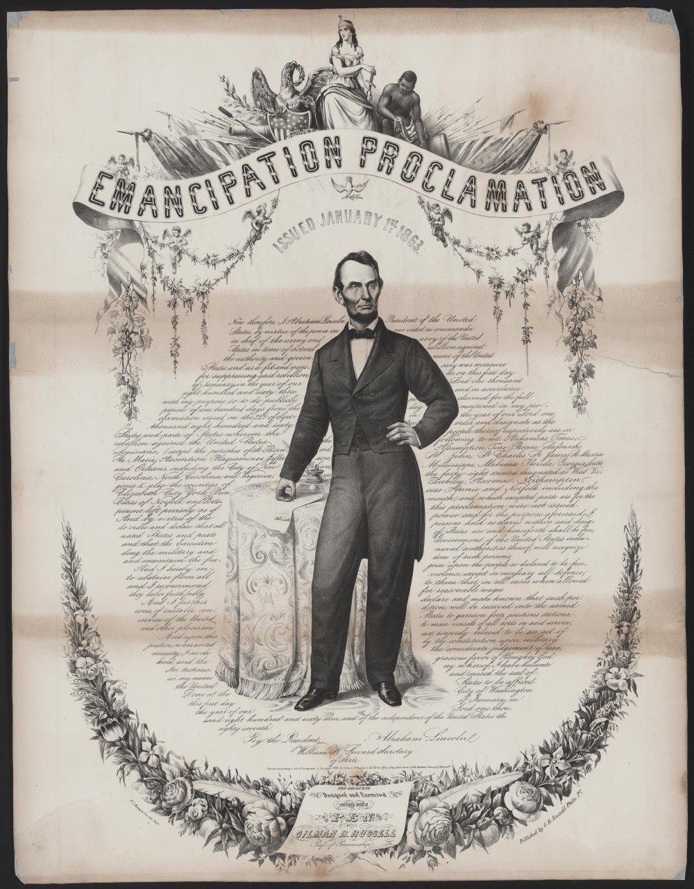 essay questions emancipation proclamation