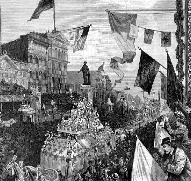 Origins of Mardi Gras in New Orleans