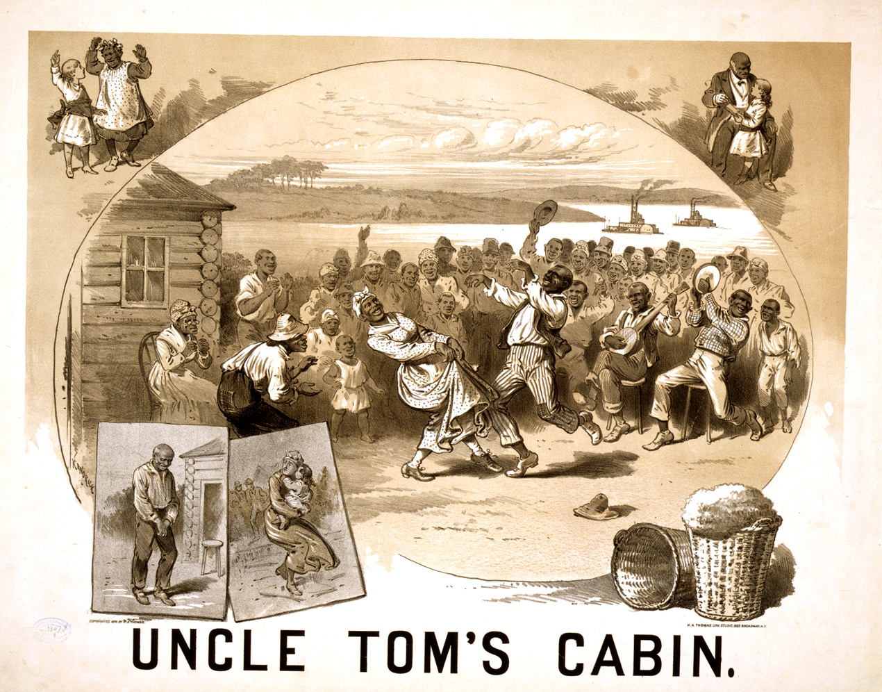 Uncle Tom In Russia In The Liberator on 18th century ballot box