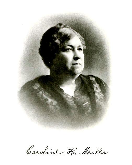 Mrs. Caroline Muller