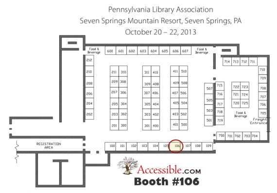 PALA 2013 Preliminary Exhibit Floor Plan