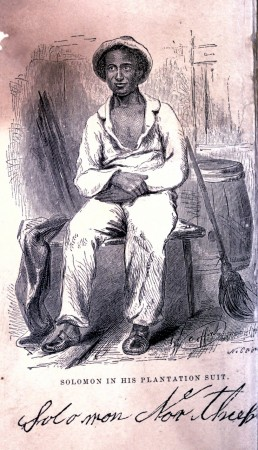 Solomon in his Plantation Suit