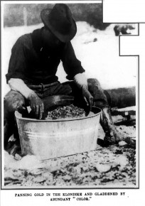The Real Gold Rush - Frank Leslie's Weekly