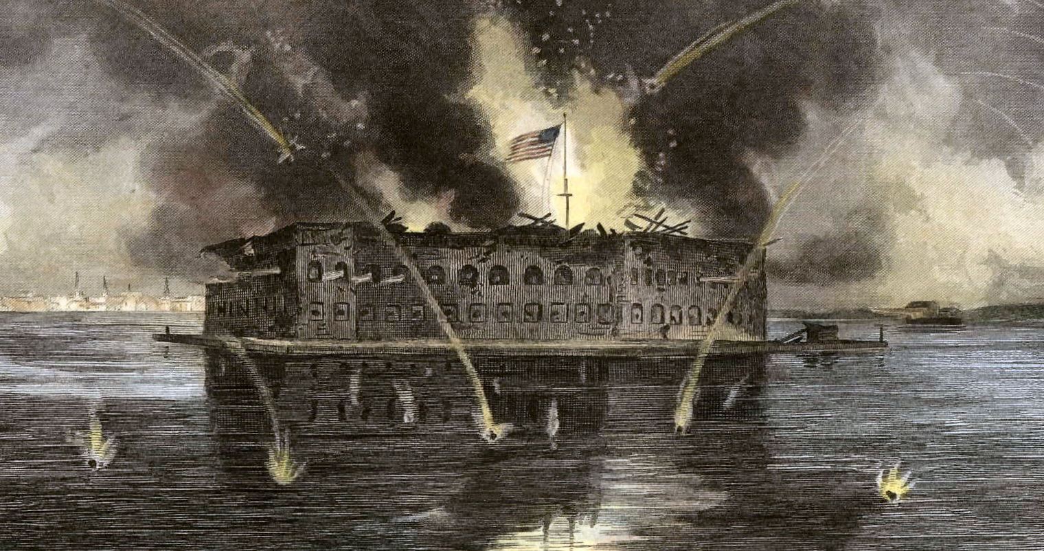 The Outbreak of War at Fort Sumter