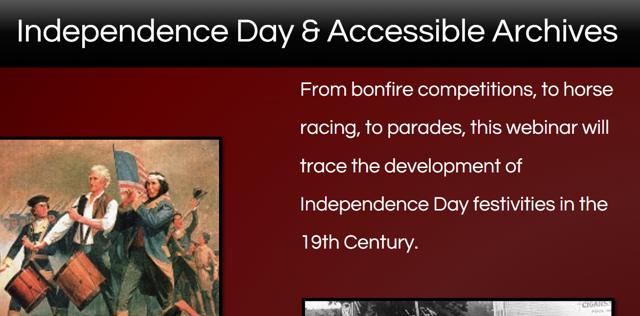 Independence Day Topics Webinar Deck