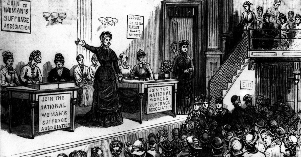 national american woman suffrage association essay American history essays: women's suffrage the two movements eventually reunited in 1890 to become the national american woman suffrage association led by.