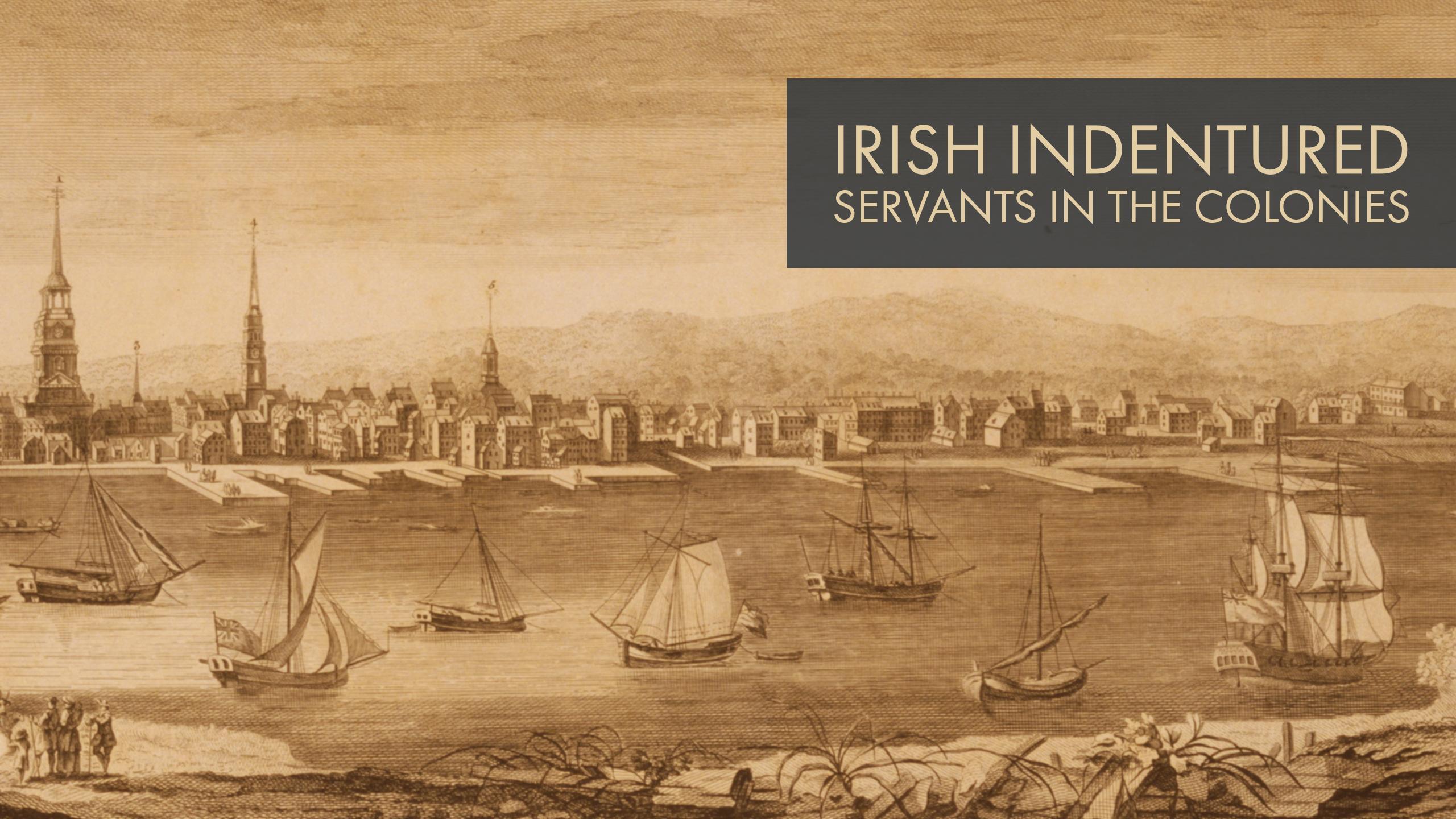 Irish Indentured Servants In The Colonies